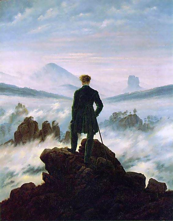 Caminante sobre el mar de nubes